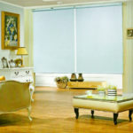 Window blinds - Rain blue